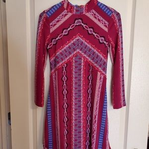 Free People Mini Dress, Boho Stretch, XS, NWT